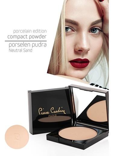 Pierre Cardin Porcelain Edition Compact Powder Neutral Sand Porselen Pudra Renksiz
